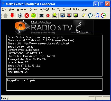 Бесплатный хостинг для shoutcast server как сделать свой сайт с платным входом