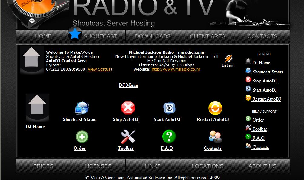 Winamp shoutcast download free.