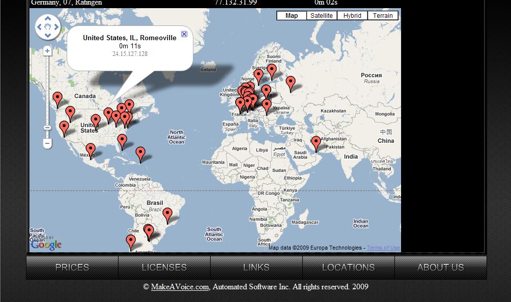 brasil google maps