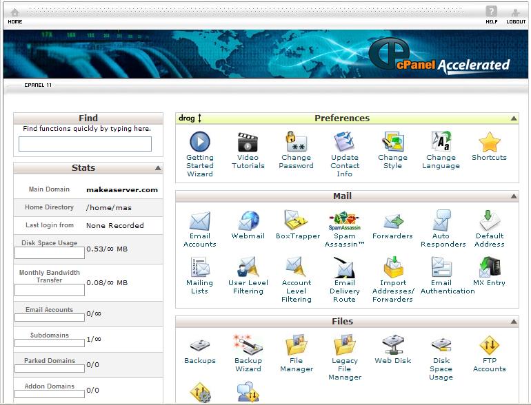 how to download file from godaddy cpanel